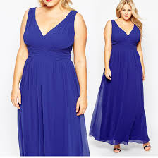 modern v neck sleeveless chiffon plus size prom dress products