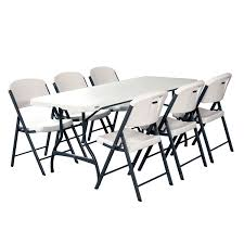 5 Piece Card Table Set Folding Desk And Chair 5 Piece Folding Chair And Table Set Black