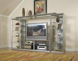 wall units astonishing glass wall units entertainment centers