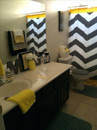 yellow and gray chevron bathroom accessories u2013 luannoe me