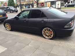 gumtree lexus cars glasgow 2002 lexus is200 automatic matt black modified quick sale in