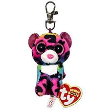 amazon ty beanie boos leona leopard clip toys u0026 games