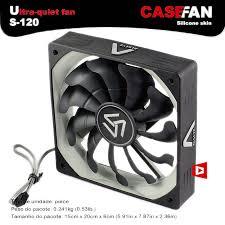 high cfm case fan alseye s 120 computer cooler fan 120mm high air flow dc 12v 1200rpm