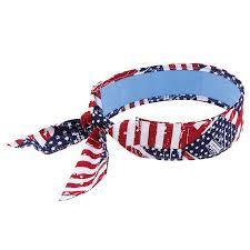 cooling headband bandana headband with tie cooling towel ergodyne