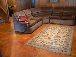 stamped concrete basement floor wood flooring ideas