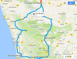 Kerala India Map by An Itinerary For A Lush Road Trip In Kerala India Bruised Passports