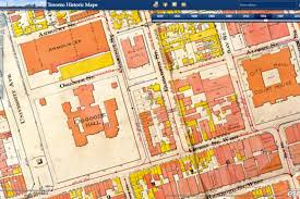 Goo Map Map Project Ties Together Centuries Of Toronto History
