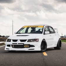 mitsubishi evolution 1 mitsubishi evolution widebody kit by clinched fits evo7 evo8 evo9