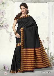 color designer traditional black color designer art silk designer saree best