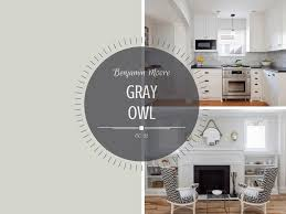 gray owl painted kitchen cabinets color spotlight benjamin gray owl rowe spurling