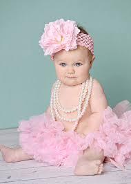 baby girl headband precious silk light pink peony baby girl headband
