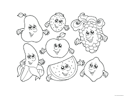 apples bananas coloring pages basket of picking colors come in
