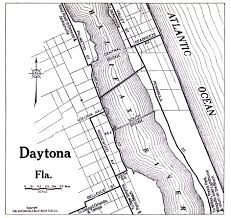 Daytona Florida Map by