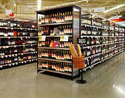 Liquor Store Shelving by Wine And Spirits Store Shelving Lozier