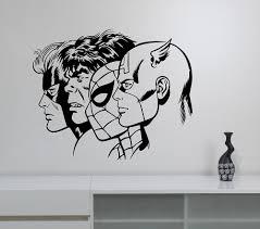 online get cheap superhero wall decals aliexpress com alibaba group new arrival superheroes wall decal removable vinyl wall sticker captain america hulk spiderman art decor home