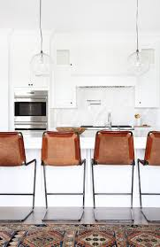 best 25 white leather bar stools ideas on pinterest leather bar