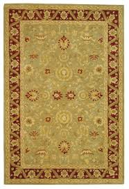 Green And Brown Area Rugs Safavieh Anatolia An548a Light Green And Red Area Rug Free Shipping