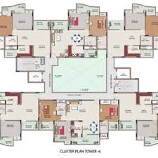 cluster home floor plans india home design with house plans sqft appliance latest in