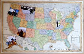 United States Map With Oceans by Cut Craft Create Personalized Photo Map For Our Paper Anniversary
