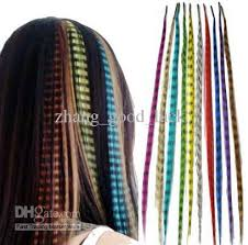 hair feathers feathers feather jewelry hair extension wig striped