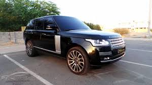 land rover black 2015 range rover autobiography 2015 under warranty