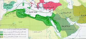Ottoman Empire And Islam Libyana Maps Political Division Of Islamic Empire