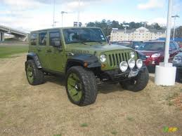 2007 jeep unlimited rubicon jeep green metallic 2007 jeep wrangler unlimited rubicon 4x4