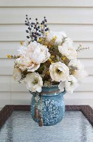 Home Floral Decor Silk Arrangements For Home Decor Interior Lighting Design Ideas