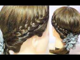 hairstyles for medium length hair with braids easy back to school hairstyle for shoulder length hair braids and