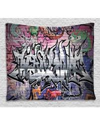 Rustic Home Decor For Sale Bargains On Rustic Home Decor Tapestry Graffiti Grunge Art Wall
