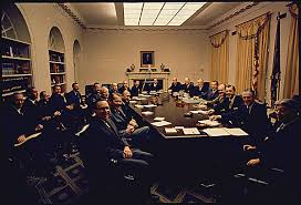 Cabinet White House First Meeting Of President Richard Nixon U0027s First Term Cabinet In