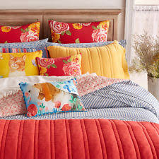 ticking stripe comforter the pioneer woman ticking stripe comforter chambray blue full