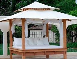 Outdoor Daybed With Canopy Outdoor Daybed With Canopy Canada Wooden Global