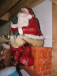 Life Size Santa Claus Decoration Fiberglass Life Size Santa Claus For Christmas Decorations Buy