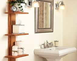Bathroom Shelf Unit Bathroom Shelf With Hooks Home Conceptor
