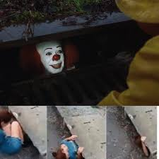 pennywise in sewer meme generator