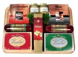 sausage and cheese gift baskets the corporate collection gourmet sausage and cheese gift basket