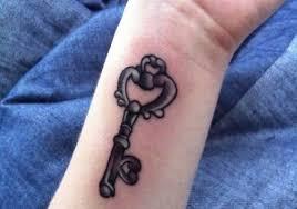 77 fantastic wrist key tattoos design
