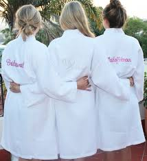 waffle robes for bridesmaids wedding robes wedding robes for bridal yumi