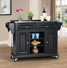 steel top kitchen island wildon home kitchen island with stainless steel top reviews