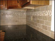 X  Tumbled Marble Tile Backsplash Backsplash For Giallo - Tiles for backsplash kitchen