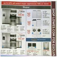 lowes appliances sales black friday lowe u0027s black friday 2015 ad