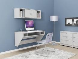 Desk For Small Spaces Ikea Furniture Classy And Stylish Floating Desk With Storage