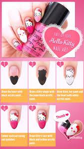 i heart hello kitty nails nailbees