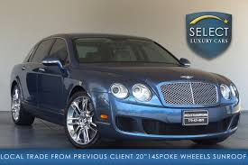 bentley flying spur 2017 blue used 2012 bentley continental flying spur marietta ga
