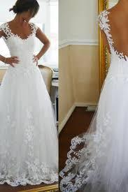 boho wedding dress on luulla