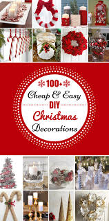 100 cheap u0026 easy diy christmas decorations prudent penny pincher