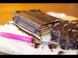 recette de cuisine facile sans four recette gâteau petit beurre chocolat sans cuisson