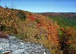 autumn color changing wv mountains mountain views free nature