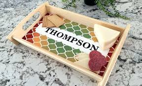 personalized serving trays platters personalized serving tray suipai me